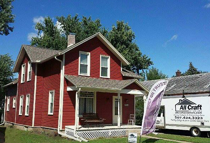 projects all craft exteriors 507 424 3323 before and after projects rochester mn